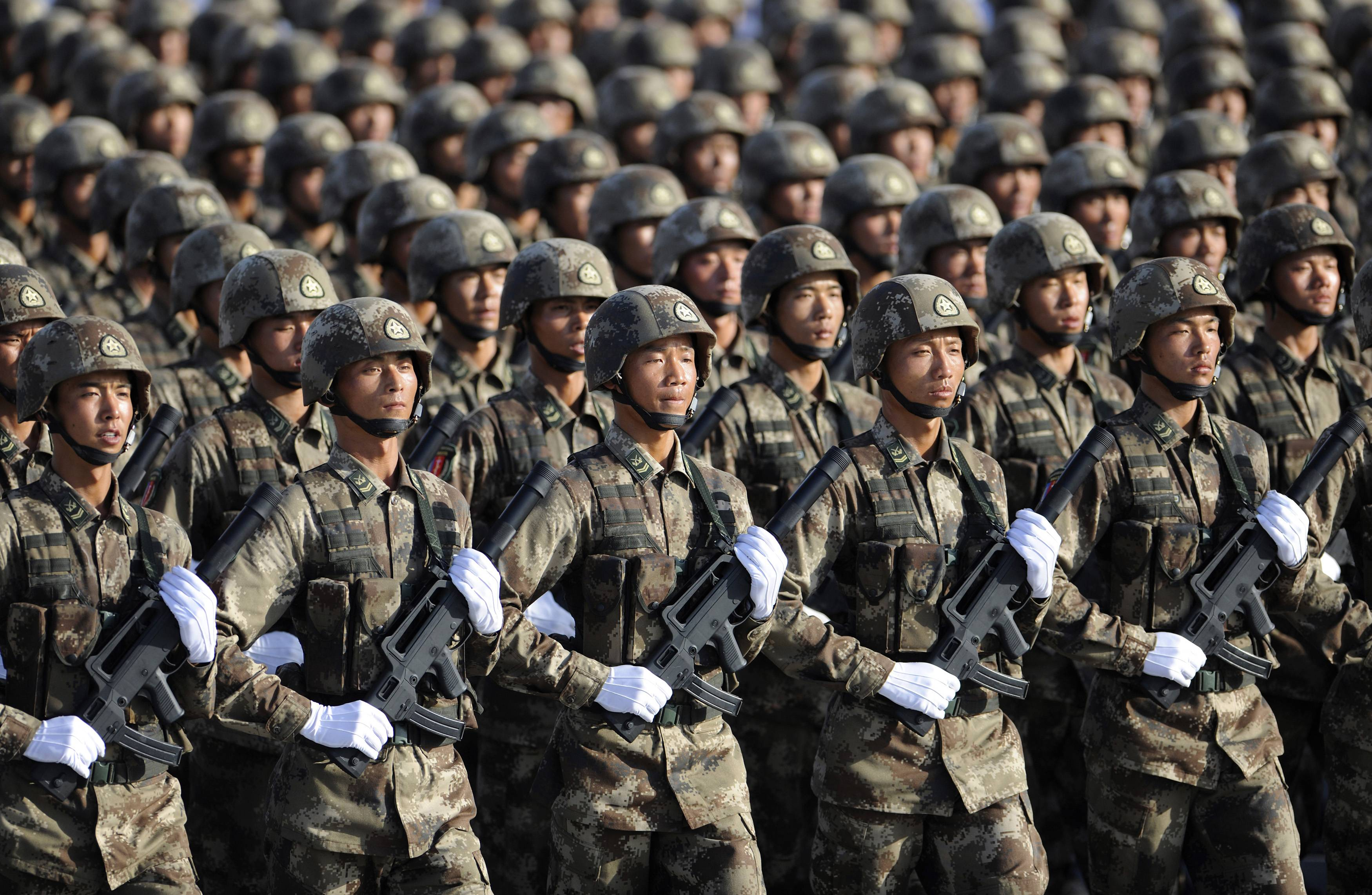 chinese-army — Indian Defence Update